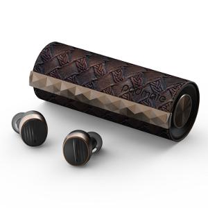 【クーポン獲得】【当店は4980円以上で送料無料】wireless earphone PaMuScroll Black Leather