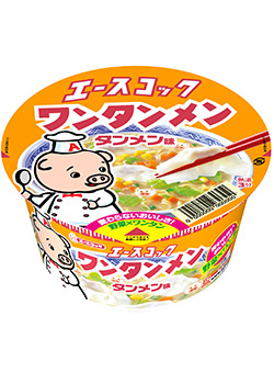 ACE Cook Wantan ramen Bowl noodles taste 80 g x 12 pieces set together buy a bargain! Case selling (wonton with noodles, cup noodles)