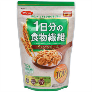 Nissin Cisco 1st-dietary fiber bran cereals 180 g × (eating sweets & serial) with Chuck stand Pack 6 pieces set save travelers