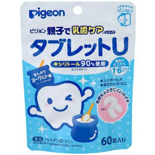 ピジョン タブレットU ヨーグルト味 60粒入 ×30個セット