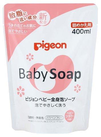 全身泡ソープ フラワーの香り 詰替え 400ml ×20個セット