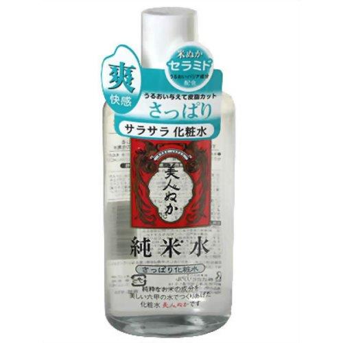 【送料込・まとめ買い×24個セット】 リアル 美人ぬか 純米水 さっぱり化粧水 130ml 1個