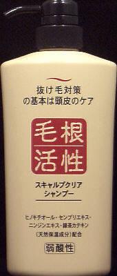 【送料込・まとめ買い×12個セット】 ジュン・コスメティック スキャルプクリア シャンプー 550ml 1個