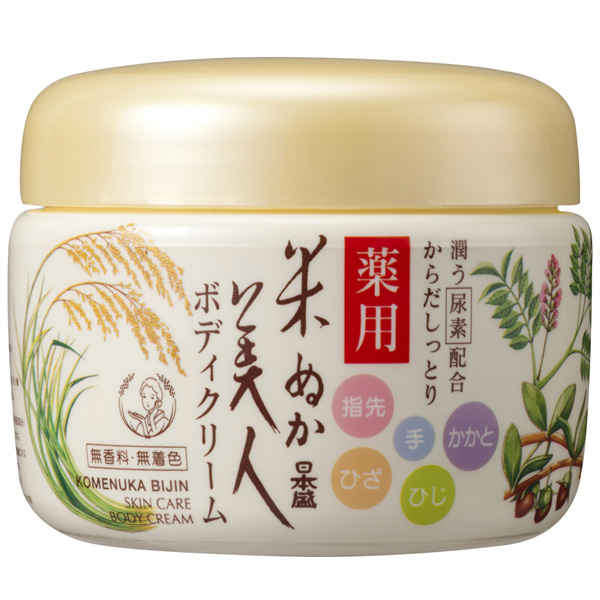 日本盛 米ぬか美人 薬用ボディクリーム 140g ×36個セット
