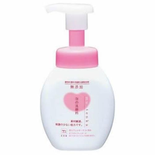 牛乳石鹸 無添加 泡の洗顔料 ポンプ 200ml ×24個セット