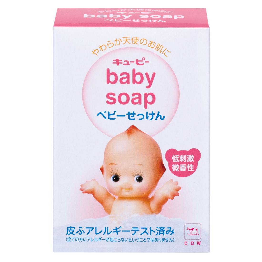 牛乳石鹸 キューピー 牛乳 マイルドベビー 石鹸 入替用 90g ×144個セット