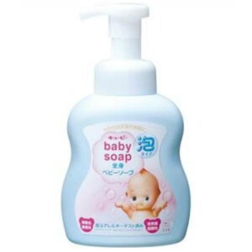 牛乳石鹸 キューピー 全身ベビーソープ 泡タイプ 400ml ×24個セット