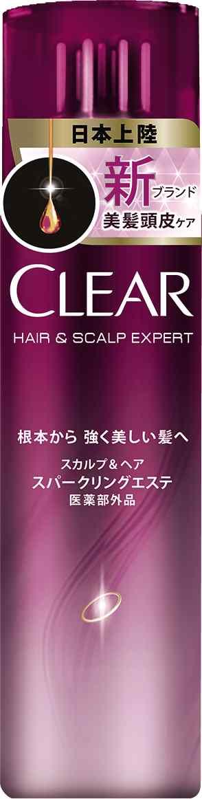 【まとめ買い】【ユニリーバ】【CLEAR】クリアスカルプ&ヘアスパークリングエステ【130g】 ×24個セット