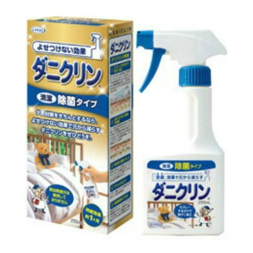 【まとめ買い】【UYEKI】【ダニクリン】ダニクリン 除菌タイプ 250ML ×24個セット