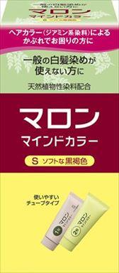 【送料込】 ヘンケルジャパン マロン マインドカラーS ソフトな黒褐色 ×36個セット