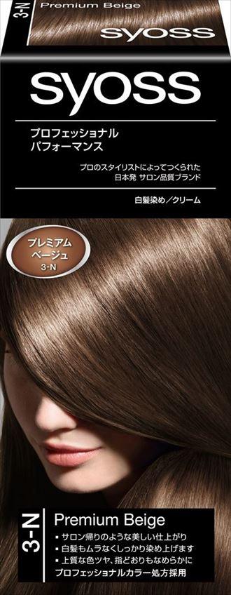 ヘンケルジャパン サイオス ヘアカラー クリーム 3 プレミアムベージュ ×36個セット