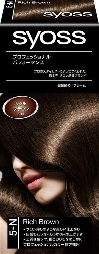 ヘンケルジャパン サイオス ヘアカラー クリーム 5 リッチブラウン ×36個セット