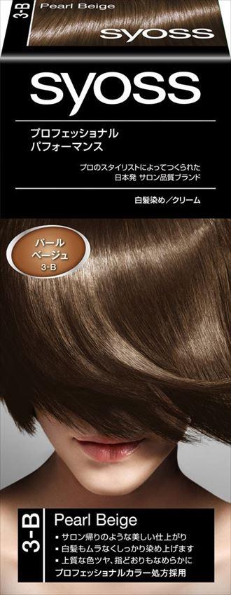 ヘンケルジャパン サイオス ヘアカラー クリーム 3B パールベージュ ×36個セット