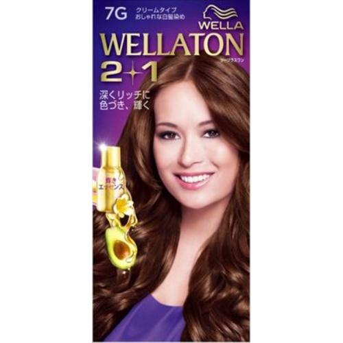 【送料込・まとめ買い×24個セット】 ウエラ Wella ウエラトーン ツープラスワン 2+1 クリームタイプ 7G 1セット