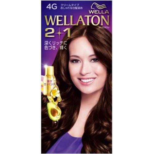 【送料込・まとめ買い×24個セット】 ウエラ Wella ウエラトーン ツープラスワン 2+1 クリームタイプ 4G 1セット