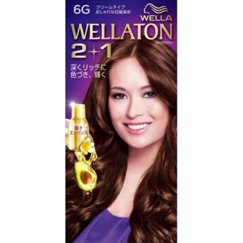【送料込・まとめ買い×24個セット】 ウエラ Wella ウエラトーン ツープラスワン 2+1 クリームタイプ 6G 1セット