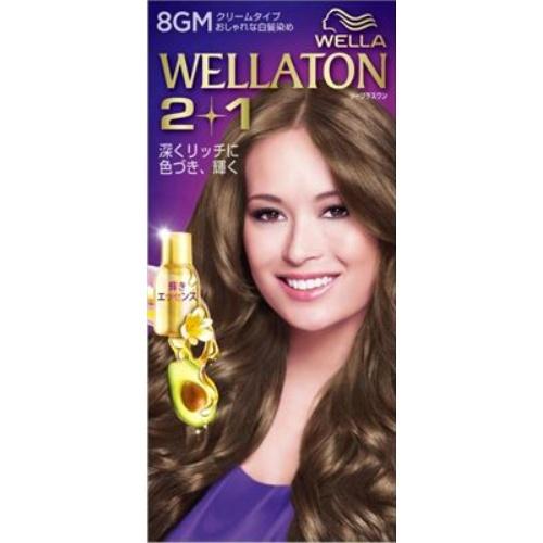 【送料込・まとめ買い×24個セット】 ウエラ(Wella) ウエラトーン ツープラスワン(2+1) クリームタイプ 8GM 1セット