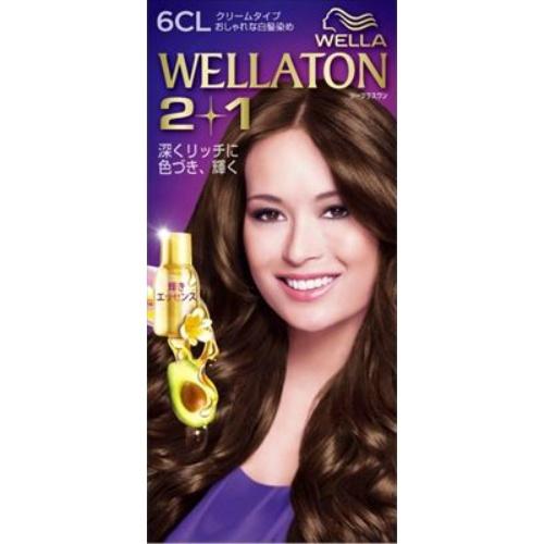 【送料込・まとめ買い×24個セット】 ウエラ Wella ウエラトーン ツープラスワン 2+1 クリームタイプ 6CL 1セット