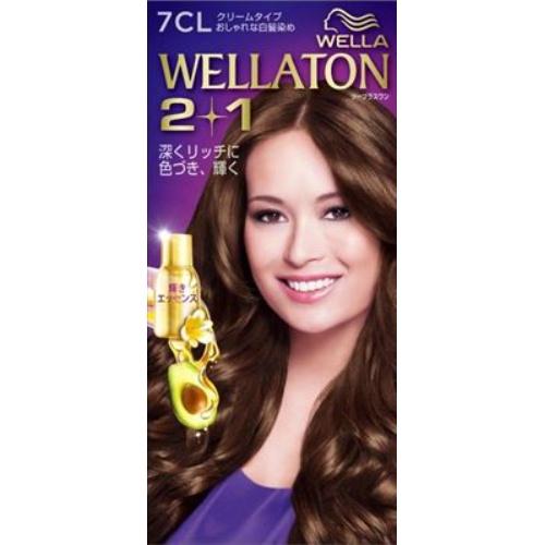 【送料込・まとめ買い×24個セット】 ウエラ Wella ウエラトーン ツープラスワン 2+1 クリームタイプ 7CL 1セット