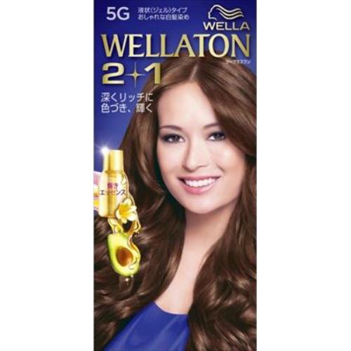【送料込・まとめ買い×24個セット】 ウエラ(Wella) ウエラトーン ツープラスワン(2+1) 液状タイプ 5G 1セット