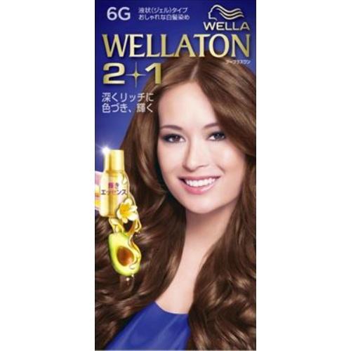 【送料込・まとめ買い×24個セット】 ウエラ Wella ウエラトーン ツープラスワン 2+1 液状タイプ 6G 1セット