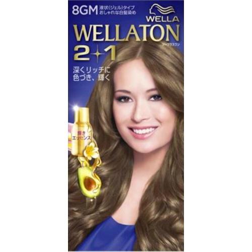 【送料込・まとめ買い×24個セット】 ウエラ(Wella) ウエラトーン ツープラスワン(2+1) 液状タイプ 8GM 134ml 1個