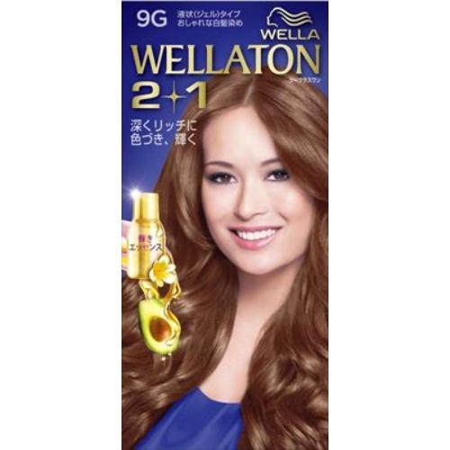 【送料込・まとめ買い×24個セット】 ウエラ Wella ウエラトーン ツープラスワン 2+1 液状タイプ 9G 1セット