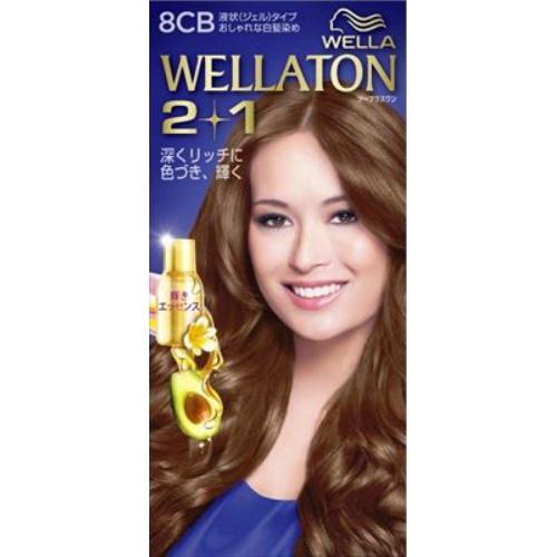 【送料込・まとめ買い×24個セット】 ウエラ Wella ウエラトーン ツープラスワン 2+1 液状タイプ 8CB 1セット