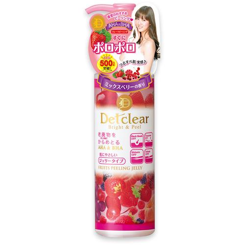 明色化粧品 DETクリア ピーリングジェリーミックスベリー 180ml ×48個セット
