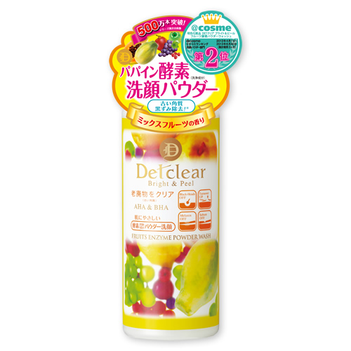 【送料込】 明色化粧品 DETクリア フルーツ酵素パウダーウオツシユ 75g ×48個セット