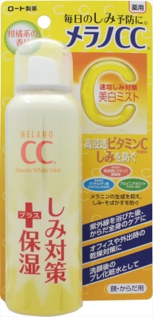【送料込】 ロート製薬 メラノCC 薬用しみ対策 美白ミスト化粧水 100g ×36個セット