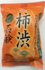100g SOC 柿渋石鹸 ×72個セット 渋谷油脂