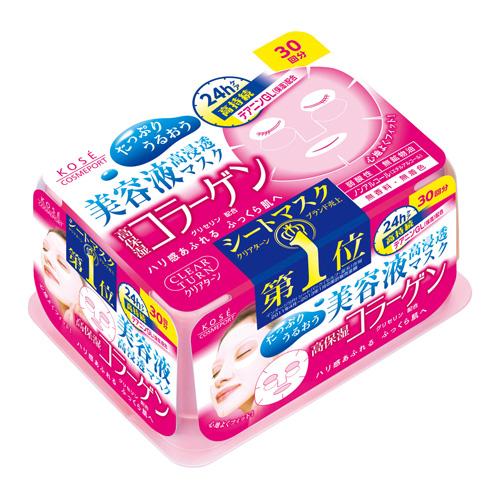 コーセーコスメポート クリアターン COエッセンスマスク 30回分 コラーゲン 30回分 ×24個セット ×24個セット, アイシン:054a3d04 --- officewill.xsrv.jp