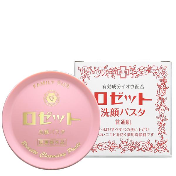 ロゼット 洗顔パスタ 赤 普通肌 90g ×72個セット