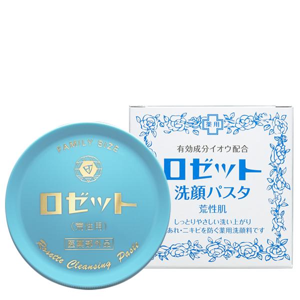 ロゼット 洗顔パスタ 青 荒性 90g ×72個セット