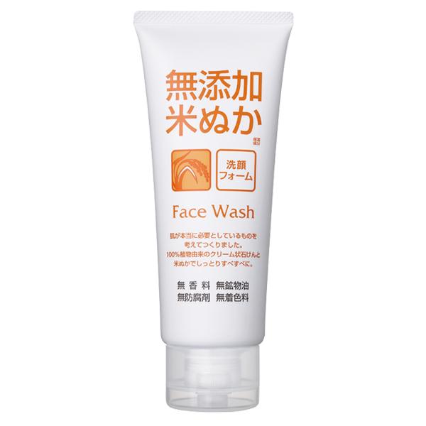ロゼット 無添加 米ぬか洗顔フォーム140g ×48個セット