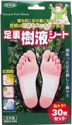 【送料込・まとめ買い×48個セット】 東京企画販売 足裏樹液シート 30枚入 1個