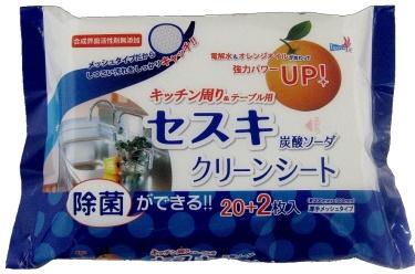 【まとめ買い】【友和】【ティポス】セスキ炭酸ソーダ クリーンシート キッチン用【22マイ】 ×120個セット