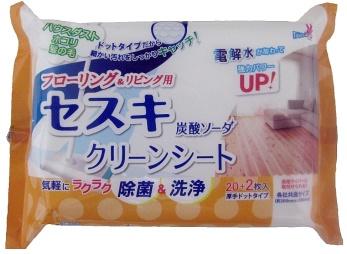 【まとめ買い】【友和】セスキ炭酸ソーダ クリーンシート リビング用【22マイ】 ×120個セット
