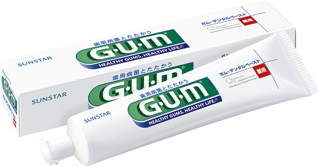サンスター GUM ガム デンタルペースト 箱 155g ×80個セット 【歯周病予防】
