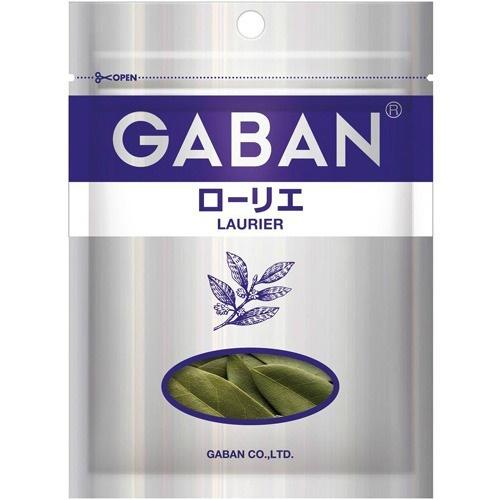 【送料無料・まとめ買い×80個セット】ハウス食品 GABAN ギャバン ローリエ 袋 (4g) 1個