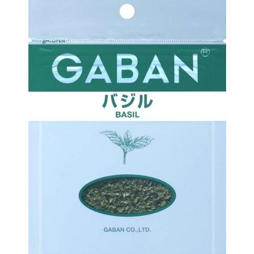 【送料無料・まとめ買い×80個セット】ハウス食品 GABAN ギャバン バジル 袋 (12g) 1個