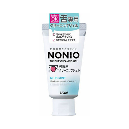 【送料無料・まとめ買い×60個セット】ライオン NONIO ノニオ 舌専用 クリーニングジェル 45g 1個