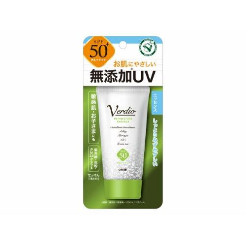 お肌に優しい強力UVエッセンス 日焼止め 通信販売 SPF50 PA 1年保証 4987036535095 送料込 近江兄弟社 1個 ベルディオ N 50g モイスチャー エッセンス 無添加UV