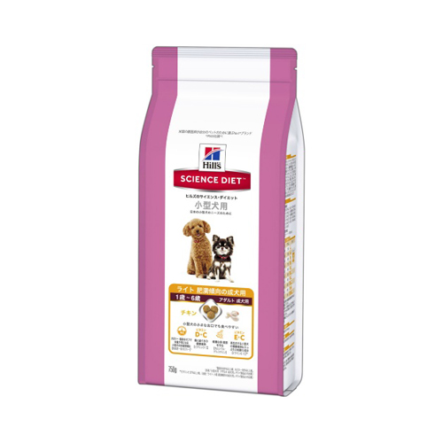 【送料込・まとめ買い×10個セット】ヒルズのサイエンスダイエット ライト 小型犬用 肥満傾向の成犬用(750g) 1個