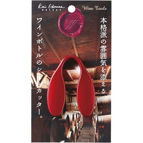 【送料込・まとめ買い×240個セット】貝印 本格派の雰囲気を添えるワインボトルのシールカッター DH7264(1コ入) 1個