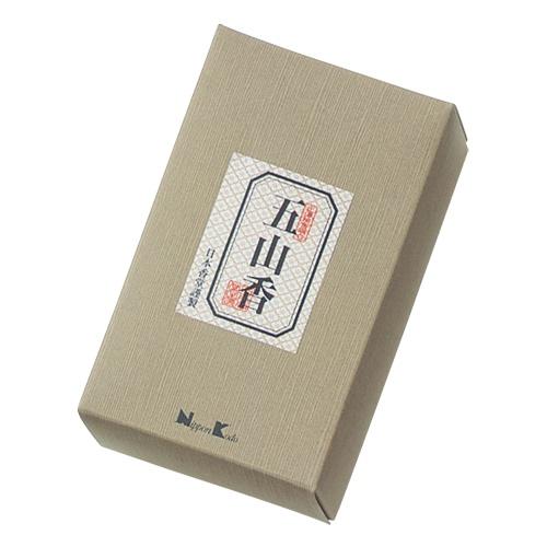 【送料込・まとめ買い×60個セット】日本香堂 五山香 125g 1個