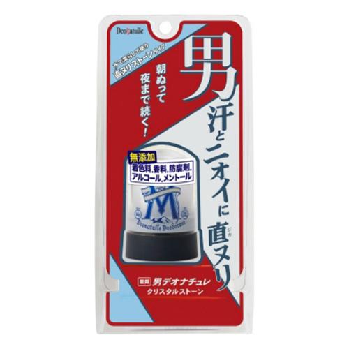 【送料込・まとめ買い×48個セット】 シービック 薬用 男デオナチュレ クリスタルストーン 60g 1個