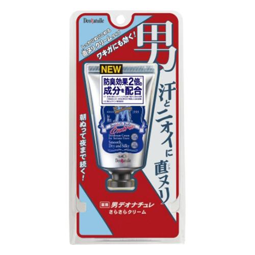 【送料込・まとめ買い×48個セット】 シービック 薬用 男デオナチュレ さらさらクリーム 45g 1個
