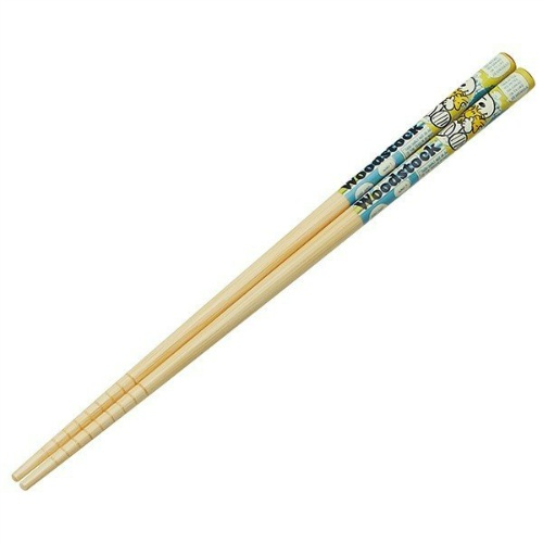 【送料込・まとめ買い×500個セット】 スケーター 竹箸 (21cm) スヌーピー&ウッドストック ANT4 1個